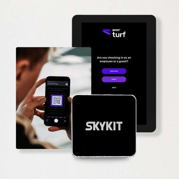 Buy Employee & Visitor Check-In Software | Skykit Turf